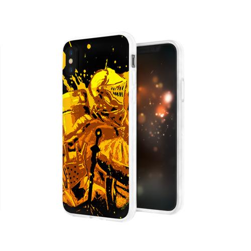 Чехол для Apple iPhone X силиконовый глянцевый  Фото 03, Dark Souls 15
