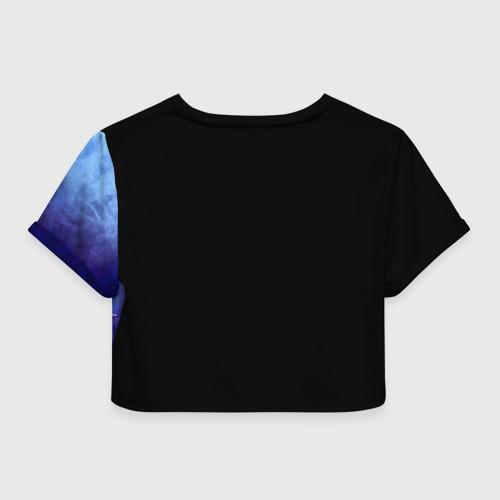 Женская футболка 3D укороченная  Фото 02, Dark Souls 17