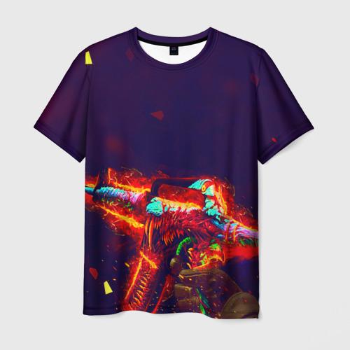 Мужская футболка 3D  Фото 01, Counter strike