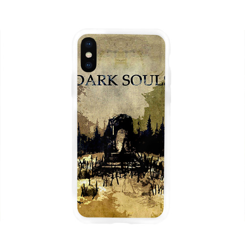 Чехол для Apple iPhone X силиконовый глянцевый  Фото 01, Dark Souls 19