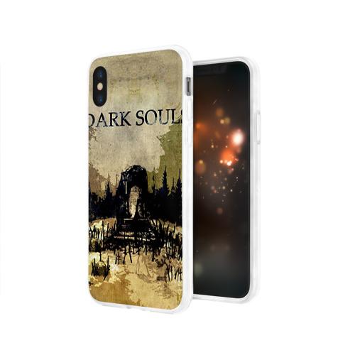 Чехол для Apple iPhone X силиконовый глянцевый  Фото 03, Dark Souls 19