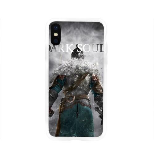 Чехол для Apple iPhone X силиконовый глянцевый  Фото 01, Dark Souls 20