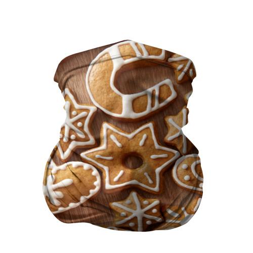 Бандана-труба 3D  Фото 01, печенье