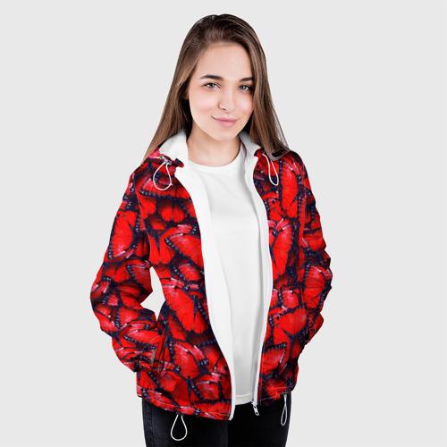 Женская куртка 3D  Фото 04, Бабочки