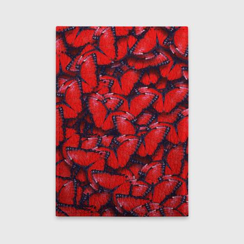 Обложка для автодокументов Бабочки Фото 01