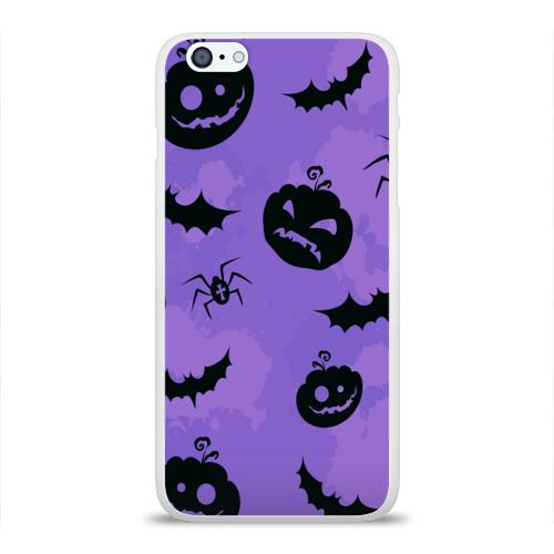 Чехол для Apple iPhone 6Plus/6SPlus силиконовый глянцевый  Фото 01, Хэллоуин