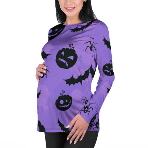 Женский лонгслив 3D для беременных  Фото 01, Хэллоуин