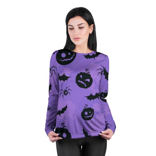 Женский лонгслив 3D для беременных  Фото 04, Хэллоуин