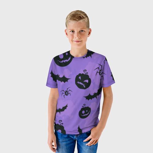 Детская футболка 3D Хэллоуин