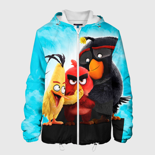 Мужская куртка 3D  Фото 01, Птички