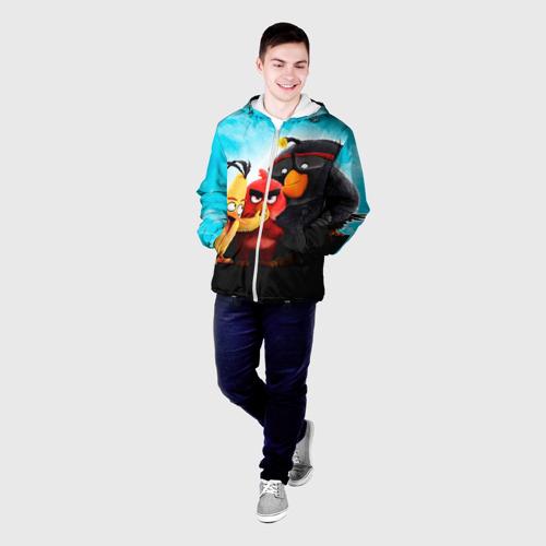 Мужская куртка 3D  Фото 03, Птички
