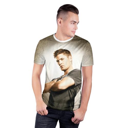 Мужская футболка 3D спортивная  Фото 03, Supernatural