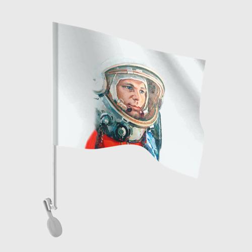 Флаг для автомобиля Гагарин Фото 01