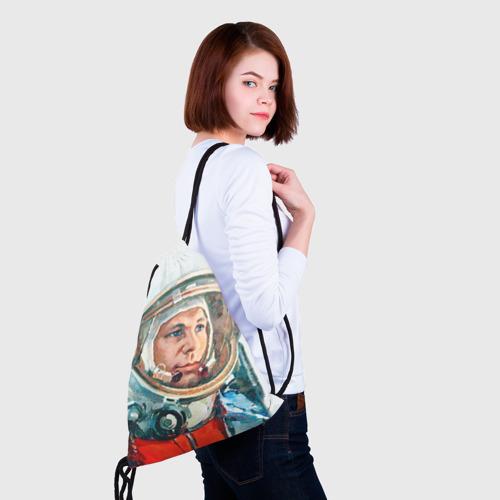Рюкзак-мешок 3D Гагарин Фото 01