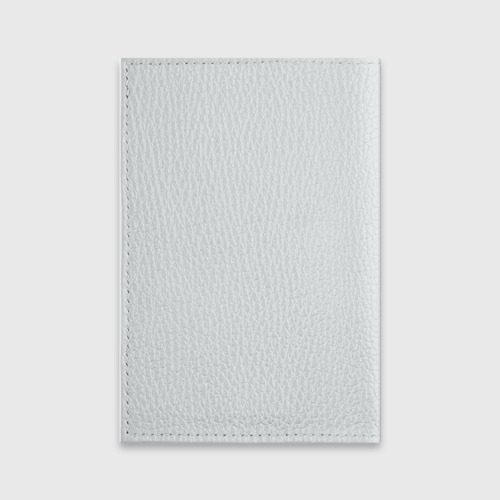 Обложка для паспорта матовая кожа Гагарин Фото 01