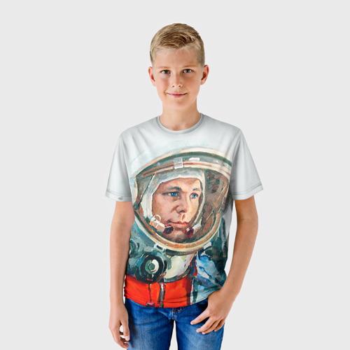 Детская футболка 3D Гагарин