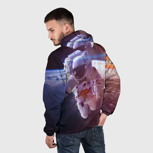 Мужская ветровка 3D  Фото 04, Космонавт