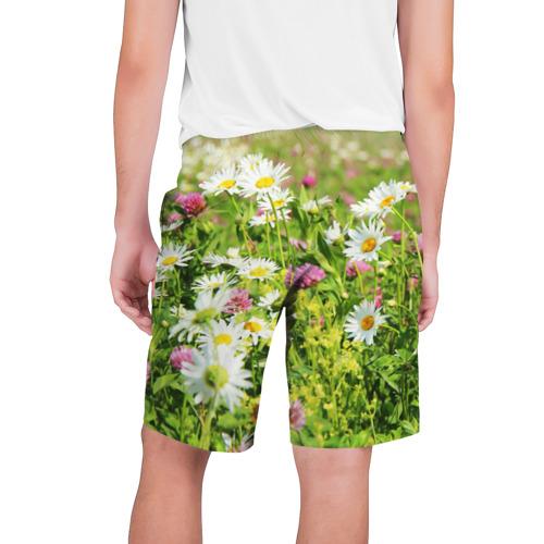 Мужские шорты 3D  Фото 02, Полевые цветы 3