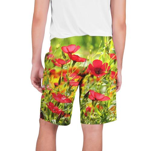 Мужские шорты 3D  Фото 02, Полевые цветы 5