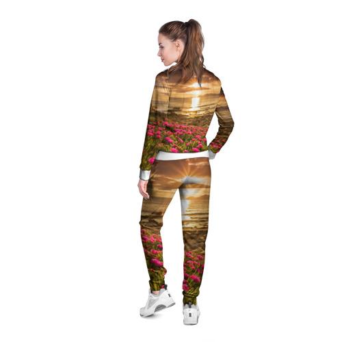 Женская олимпийка 3D  Фото 04, Полевые цветы 9