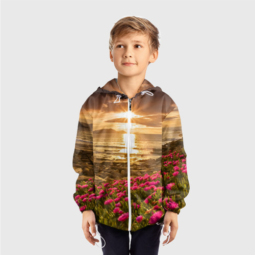 Детская ветровка 3D  Фото 03, Полевые цветы 9