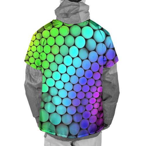 Накидка на куртку 3D  Фото 02, Цветные шары