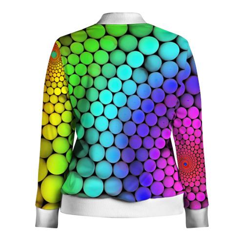 Женская олимпийка 3D  Фото 02, Цветные шары