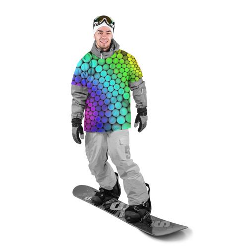 Накидка на куртку 3D  Фото 03, Цветные шары