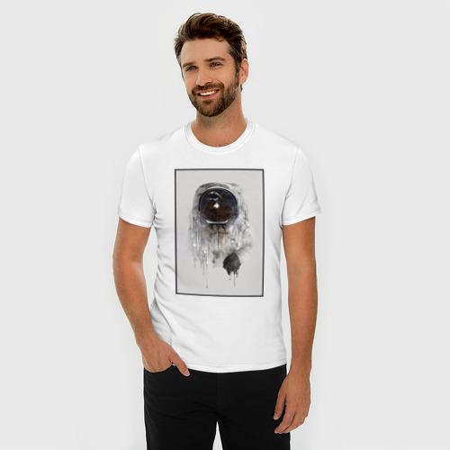 Мужская футболка премиум  Фото 03, Космонавт