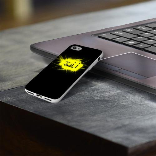 Чехол для Apple iPhone 8 силиконовый глянцевый  Фото 03, Музыка