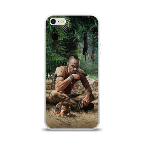 Чехол для Apple iPhone 5/5S силиконовый глянцевый  Фото 01, Far Cry