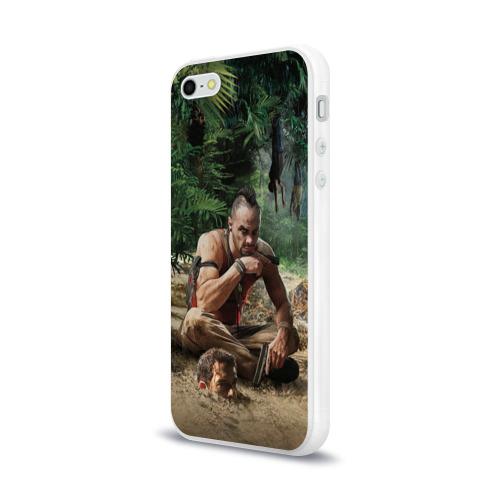 Чехол для Apple iPhone 5/5S силиконовый глянцевый  Фото 03, Far Cry
