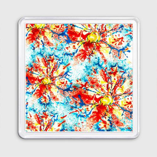 Текстура из цветов