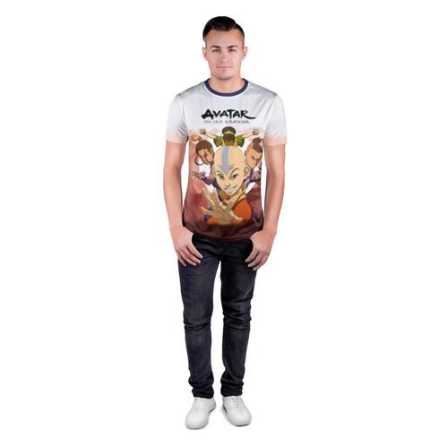Мужская футболка 3D спортивная  Фото 04, Аанг