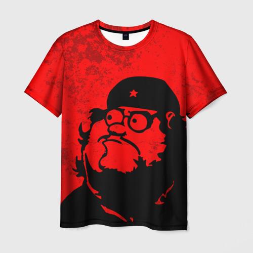 Мужская футболка 3D Мужик