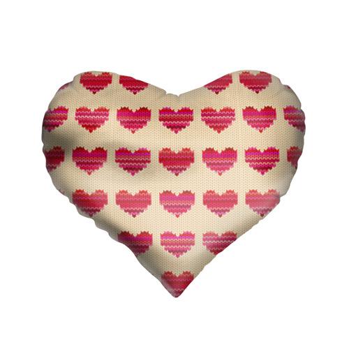 Шерстяные сердечки