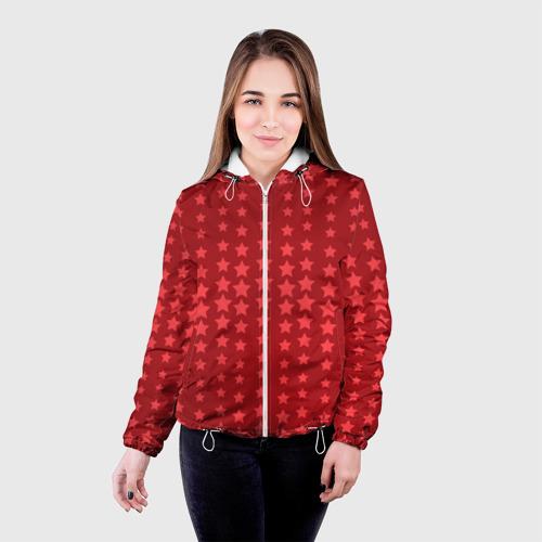 Женская куртка 3D  Фото 03, Звёздочки