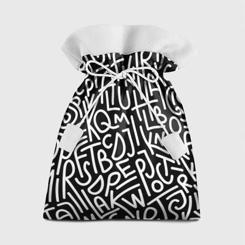 Подарочный 3D мешок Английские буквы