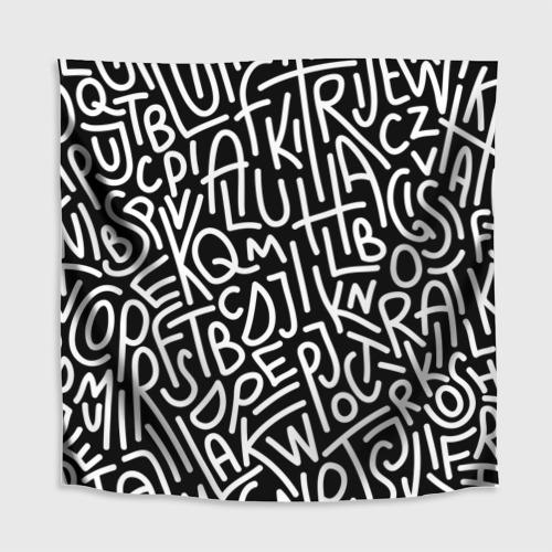 Скатерть 3D  Фото 02, Английские буквы