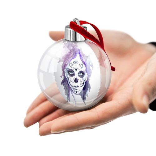 Ёлочный шар  Фото 02, Смертельный боди-арт