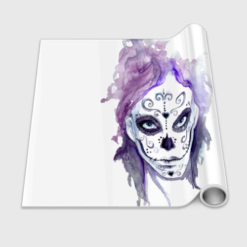 Бумага для упаковки 3D  Фото 02, Смертельный боди-арт