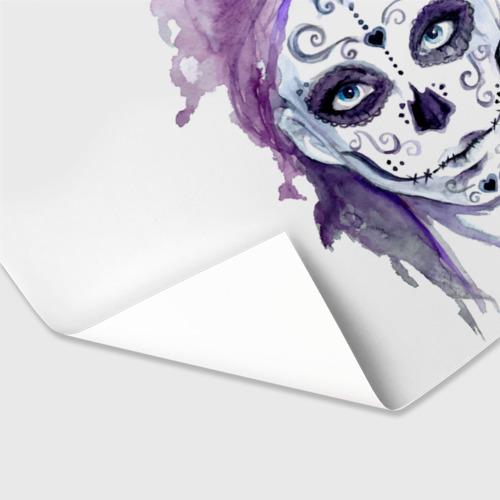 Бумага для упаковки 3D  Фото 03, Смертельный боди-арт