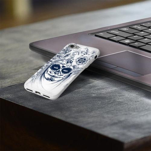 Чехол для Apple iPhone 8 силиконовый глянцевый  Фото 03, Мистический боди-арт