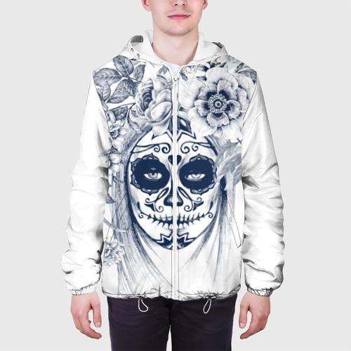 Мужская куртка 3D  Фото 04, Мистический боди-арт