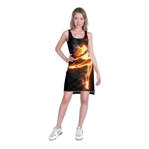 Платье-майка 3D  Фото 03, Фитнес