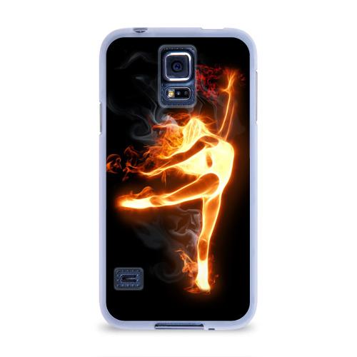 Чехол для Samsung Galaxy S5 силиконовый  Фото 01, Фитнес