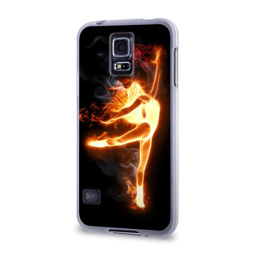 Чехол для Samsung Galaxy S5 силиконовый  Фото 03, Фитнес
