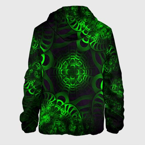 Мужская куртка 3D Зеленый узор Фото 01