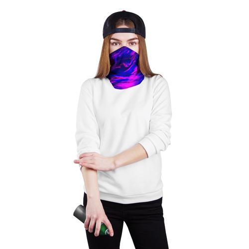 Бандана-труба 3D Глянцевые краски Фото 01
