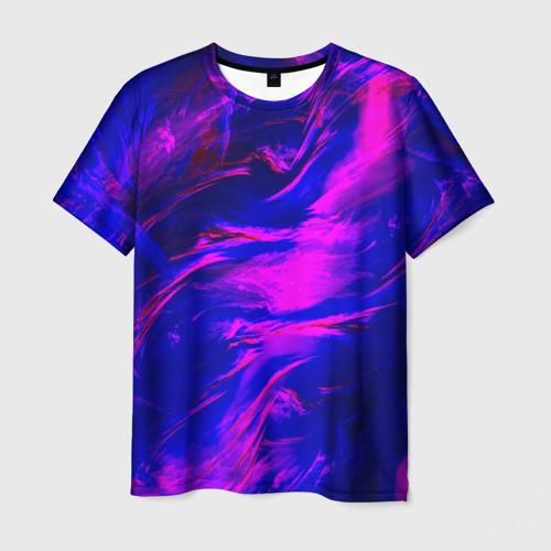 Мужская футболка 3D  Фото 01, Глянцевые краски